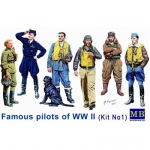 Famous Pilots of WWII (Kit 1) - Master Box 1/32