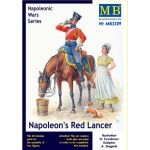 Napoleons Red Lancer (Napoleonic Wars) - Master Box 1/32