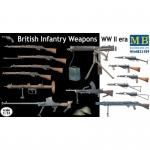 British Infantry Weapons (WWII) - Master Box 1/35