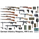 German Infantry Weapons (WWII) - Master Box 1/35