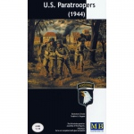 U.S. Paratroopers (1944) - Master Box 1/35