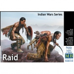 Raid (Indian Wars Series) - Master Box 1/35