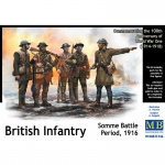 British Infantry, Somme Battle Period 1916 - Master Box 1/35