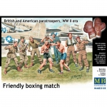 Friendly Boxing Match (British & American Paratroopers...
