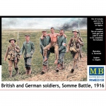 British and German Soldiers, Somme Battle 1916 - Master...