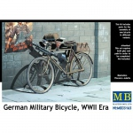 German Military Bicycle, WWII Era - Master Box 1/35