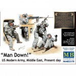 Man Down! US Modern Army, Middle East, Present Day - Master Box 1/35