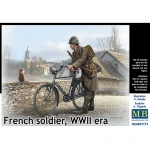 French Soldier, WWII Era - Master Box 1/35