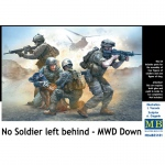 No Soldier left behind - MWD Down - Master Box 1/35