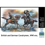 British and German Cavalrymen, WWI era - Master Box 1/35