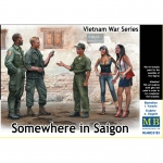 Somewhere in Saigon (Vietnam War Series) - Master Box 1/35