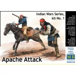 Apache Attack (Indian Wars Series, Kit No.1) - Master Box...