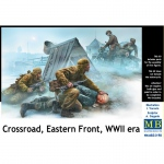 Crossroad, Eastern Front, WWII era - Master Box 1/35