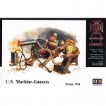 U.S. Machine Gunners (Europe 1944) - Master Box 1/35