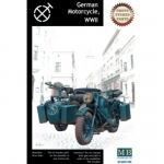 German Motorcycle WWII - Master Box 1/35