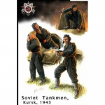 Bail Out ! Russian Tank Crew (Kursk 1943) - Master Box 1/35