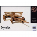 Farmers Cart (Europe WWII) - Master Box 1/35