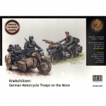 Kradschützen: German Motorcycle Troops on the Move (PE) -...