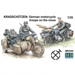 Kradschützen: German Motorcycle Troops on the Move -...