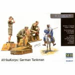 Deutsches Afrika Korps: German Tankman - Master Box 1/35