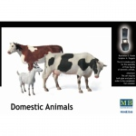 Domestic Animals - Master Box 1/35