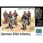 German Elite Infantry, Eastern Front WWII - Master Box 1/35