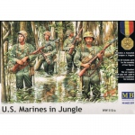 U.S. Marines in Jungle (WWII) - Master Box 1/35