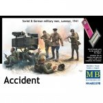 Accident. Soviet & German Military Men, Summer 1941 -...