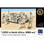 LRDG in North Africa (WWII) - Master Box 1/35