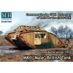 Mk.I Male British Tank 1916 - Master Box 1/72