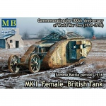 Mk.I Female British Tank 1916 - Master Box 1/72