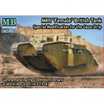 Mk.I Female British Tank WWI - Master Box 1/72