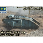 Mk.II Male British Tank WWI - Master Box 1/72