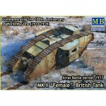 Mk.II Female British Tank WWI - Master Box 1/72