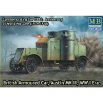 Austin Mk.III British Armored Car WWI - Master Box 1/72