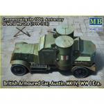 Austin Mk.IV British Armored Car WWI - Master Box 1/72