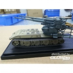 German WWII E-100 panzer weapon carrier w.FLAK 40 128MM...