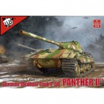German Medium Tank E-50 Panther III - Modelcollect 1/35