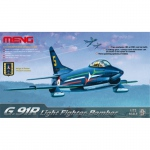 G.91R Light Fighter Bomber - Meng Model 1/72