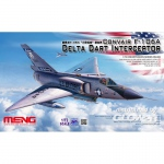 F-106A Delta Dart Interceptor - Meng Model 1/72