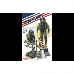 U.S. Explosive Ordnance Disposal Specialists & Robots - Meng Model 1/35