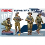 IDF Infantry Set (2000-) - Meng Model 1/35