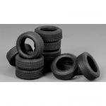 Tyres for Vehicle / Diorama (4pcs) - Meng Model 1/35