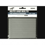 Nuts and Bolts Set A (large) - Meng Model 1/35