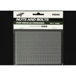 Nuts and Bolts Set B (large) - Meng Model 1/35