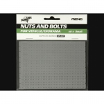 Nuts and Bolts Set B (small) - Meng Model 1/35