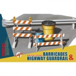 Barricades & Highway Guardrail - Meng Model 1/35