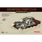 German King Tiger (Henschel Turret) Interior Set - Meng Model 1/35