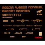 Modern Russian Individual Support Weapons - Meng Model 1/35