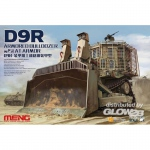 D9R Armored Bulldozer w. Slat Armor - Meng Model 1/35